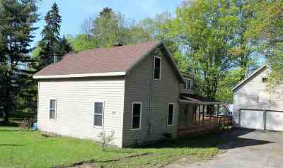 Colton NY Single Family Home For Sale: $85,000