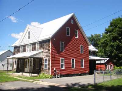 Ogdensburg NY Single Family Home For Sale: $65,000