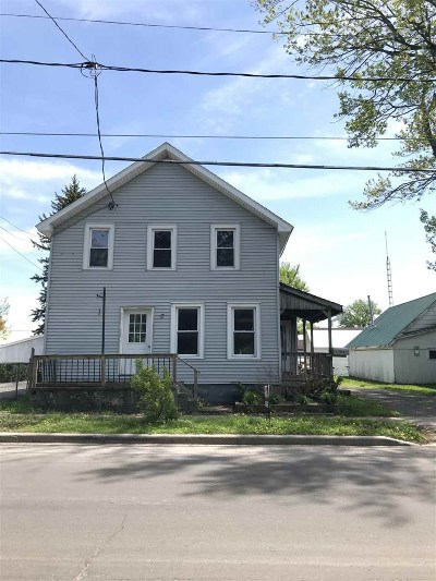 Ogdensburg NY Single Family Home For Sale: $69,000