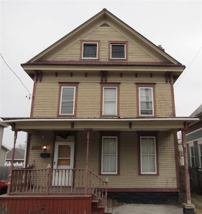 Ogdensburg NY Single Family Home For Sale: $42,000