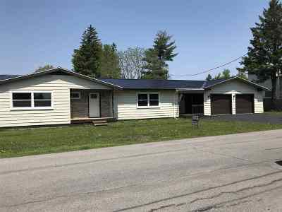 Ogdensburg NY Single Family Home For Sale: $104,900