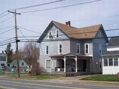 St Lawrence County Multi Family Home For Sale: 52-54 Maple St.
