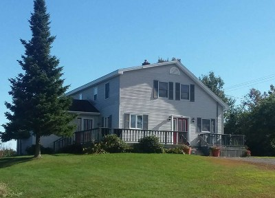 St Lawrence County Single Family Home For Sale: 83b & 83c State Highway 345