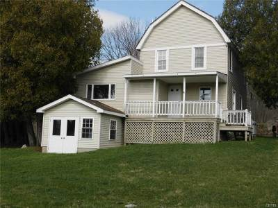 Alexandria Bay Single Family Home For Sale: 45483 Nys Rt. 12