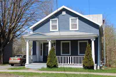Ogdensburg NY Single Family Home For Sale: $74,900