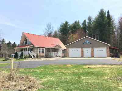 St Lawrence County Single Family Home For Sale: 160 State Route 458