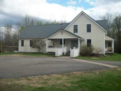 St Lawrence County Single Family Home For Sale: 6968 State Highway 56