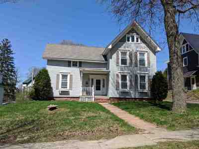 St Lawrence County Single Family Home For Sale: 14 Pleasant Street