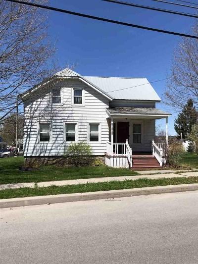 Ogdensburg NY Single Family Home For Sale: $32,000