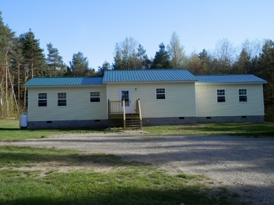 St Lawrence County Single Family Home For Sale: 1404 Old Potsdam Parishville Road