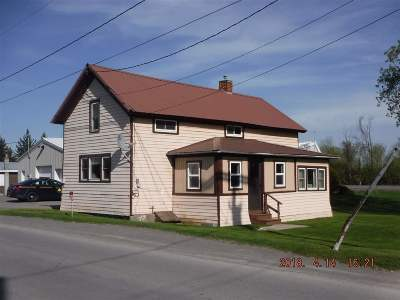Ogdensburg NY Single Family Home For Sale: $39,900