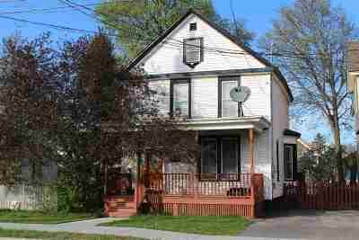 Ogdensburg NY Single Family Home For Sale: $69,900