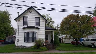 Gouverneur NY Single Family Home For Sale: $55,000