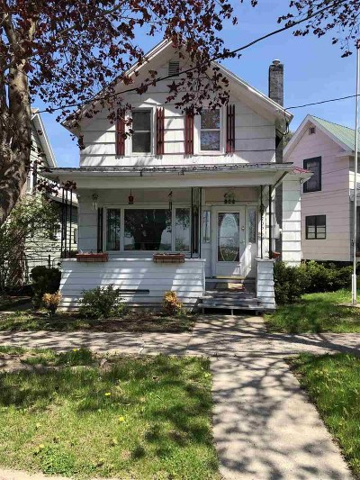 Ogdensburg NY Single Family Home For Sale: $59,000