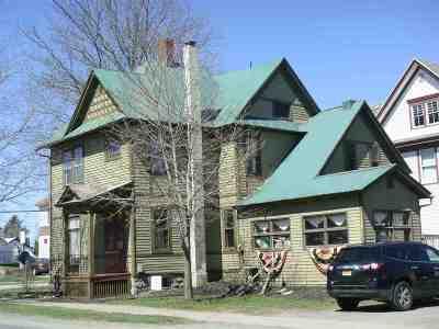 Ogdensburg NY Single Family Home For Sale: $81,500