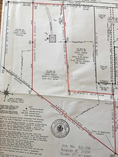 Massena Residential Lots & Land For Sale: 44 State Highway 37b