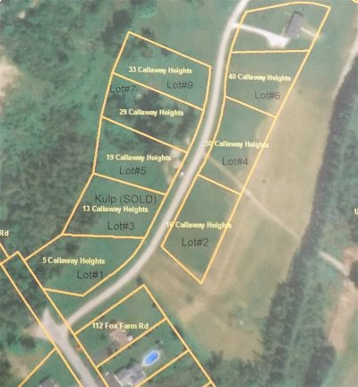 Residential Lots & Land For Sale: 33 Callaway Heights