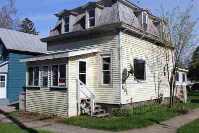 St Lawrence County Single Family Home For Sale: 530 Rensselaer Ave