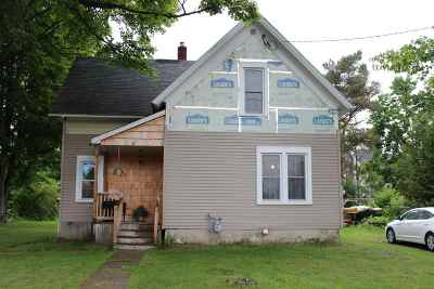Canton NY Single Family Home For Sale: $110,000