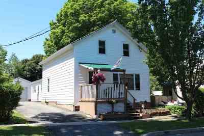 Ogdensburg NY Single Family Home For Sale: $99,500