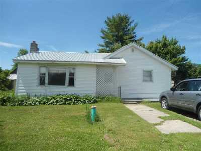 Ogdensburg NY Single Family Home For Sale: $45,000