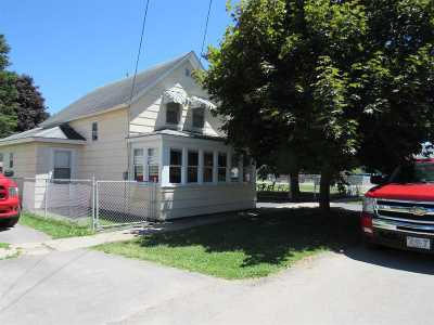 Ogdensburg NY Single Family Home For Sale: $49,900
