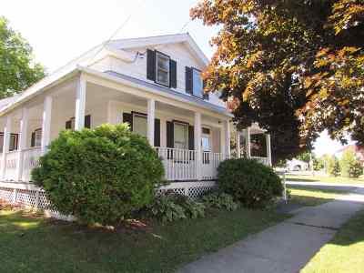 Ogdensburg NY Single Family Home For Sale: $55,000