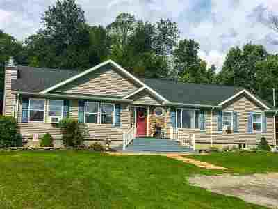 St Lawrence County Single Family Home For Sale: 1309 County Route 12