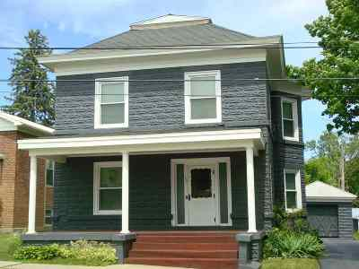 Heuvelton Single Family Home For Sale: 59 State Street