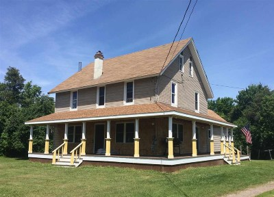 St Lawrence County Single Family Home For Sale: 11209 Us Highway 11