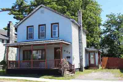 Ogdensburg NY Single Family Home For Sale: $29,900