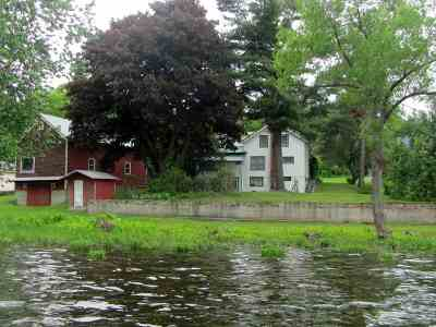Hammond, Morristown Waterfront For Sale: 3436 Cr 6