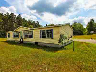 Harrisville NY Single Family Home For Sale: $84,900