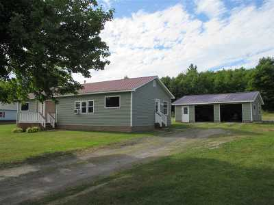 Gouverneur NY Single Family Home For Sale: $119,000