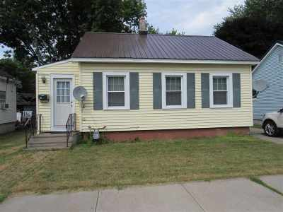 St Lawrence County Single Family Home For Sale: 158 Liberty Ave.