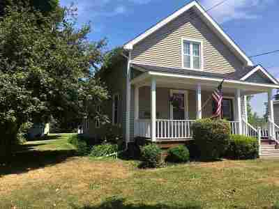 St Lawrence County Single Family Home For Sale: 15 Cherry Street
