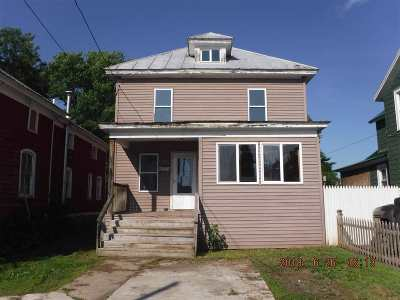 Ogdensburg Single Family Home For Sale: 818 Congress Street