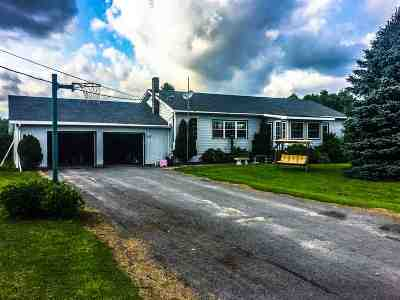 Single Family Home Sale Pending: 1609 County Route 22