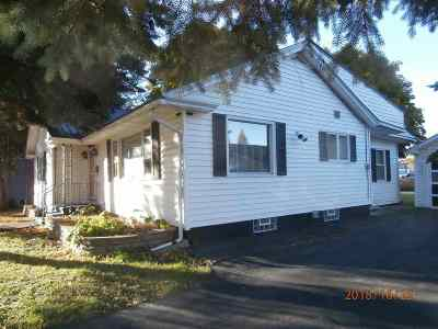Ogdensburg NY Single Family Home For Sale: $134,900