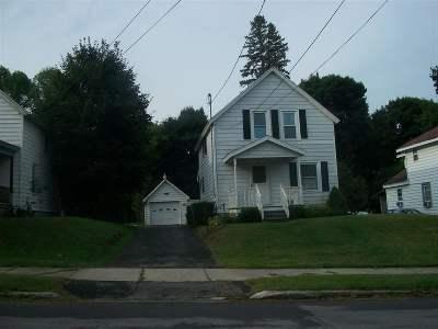 Massena Single Family Home For Sale: 8 Stearns St
