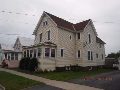 Ogdensburg NY Single Family Home For Sale: $93,500