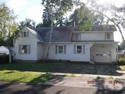 Ogdensburg NY Single Family Home For Sale: $75,000