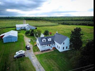 St Lawrence County Single Family Home For Sale: 7643 County Route 27