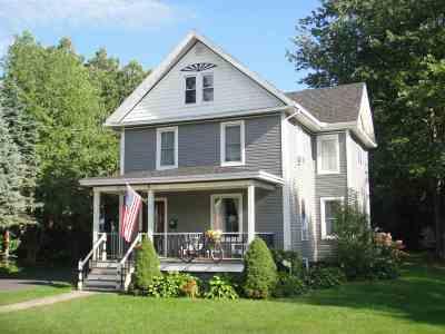 Ogdensburg NY Single Family Home For Sale: $214,900