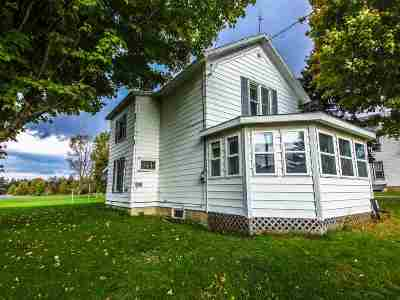 Gouverneur NY Single Family Home For Sale: $65,000