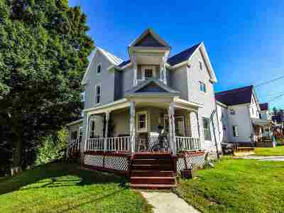 Gouverneur NY Single Family Home For Sale: $59,000