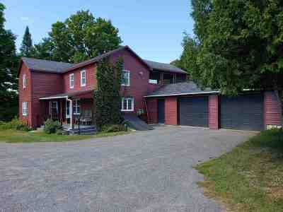 St Lawrence County Single Family Home For Sale: 111 O'brien Rd.