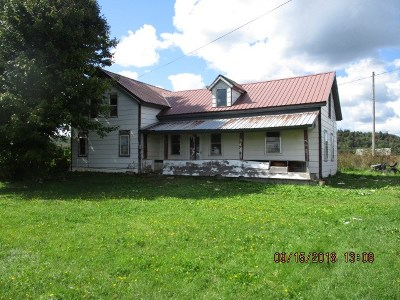St Lawrence County Single Family Home For Sale: 2201 County Route 24