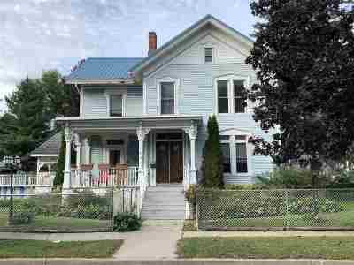 Single Family Home For Sale: 605 Elizabeth Street