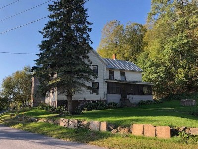 St Lawrence County Single Family Home For Sale: 1223 County Route 3